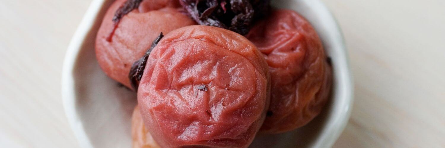 Different Kinds of Umeboshi