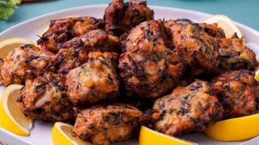 Fish and Hijiki Fritter