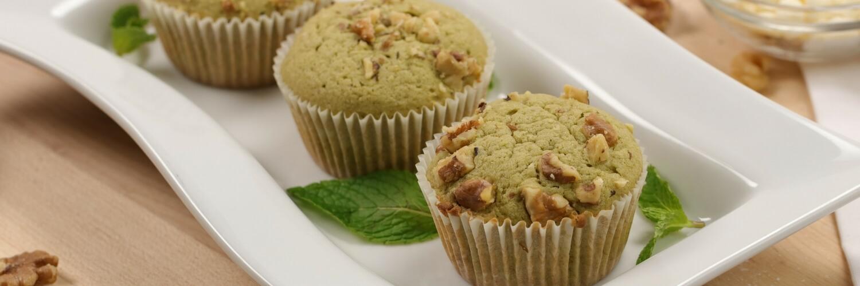 Green Tea White Chocolate Muffin