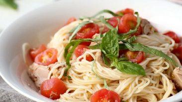 Italian Tomato Somen Noodles