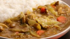 Japanese Curry with Cabbage