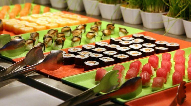 Japanese baikingu buffet