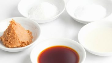 Japanese cooking basics seasonings