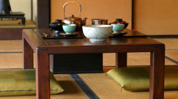 Japanese dining culture chabudai