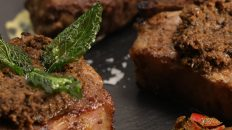 Japanese inspired Mint Marinated Lamb Chop Steaks