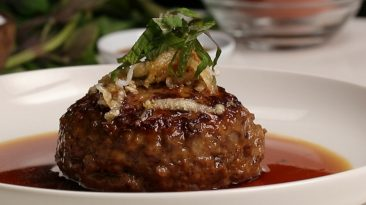Japanese-style Salisbury Steak