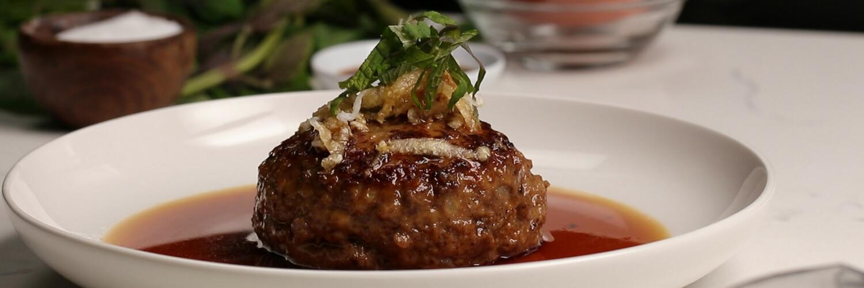 Japanese-style Salisbury Steak