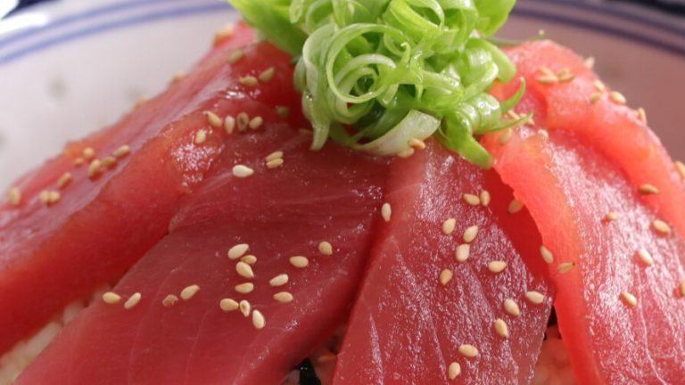Maguro Zuke Don (Soy-marinated Tuna Bowl)