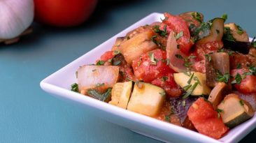 Miso Flavored Ratatouille