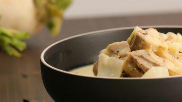 Nappa Cabbage Cream Hot Pot