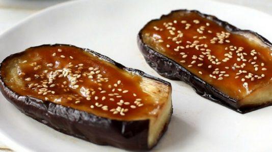 Nasu Dengaku (Miso-glazed Eggplant)