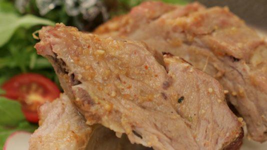 Pork Spare Ribs with Spicy Koji Miso