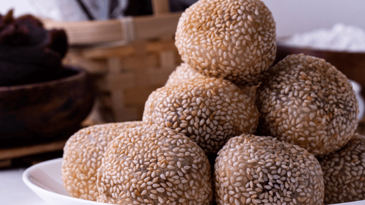 Sesame Balls (Goma Dango)