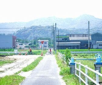 Shimane scenery with bike