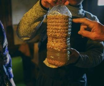 fermentation in a plastic bottle