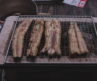 unagi grilling in shimane