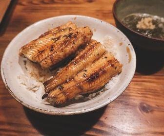 unagi bowl in shimane