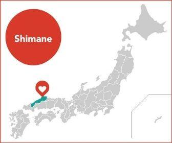 Shimane Map