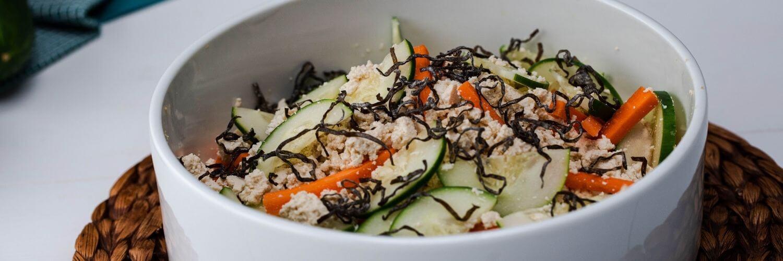 Shio Kombu & Tofu Salad