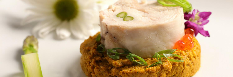 Shio Koji Marinated Chicken Roll Tori Ham
