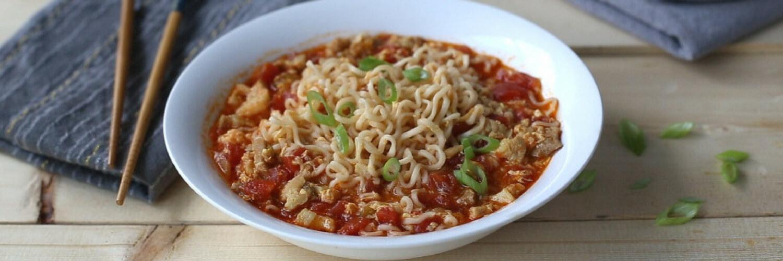 Spicy Tomato Ramen