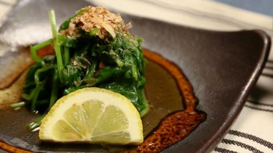 Spinach-with-a-Japanese-Twist