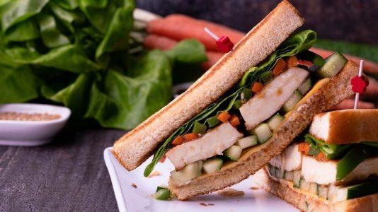 Tofu Teriyaki Sandwich
