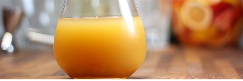Tropical sake drink