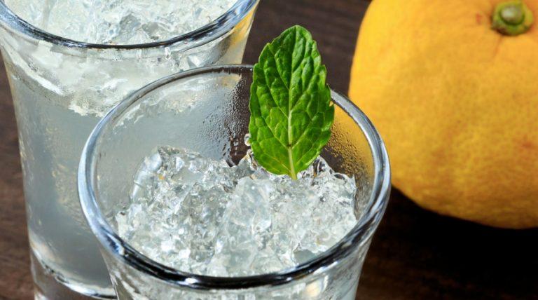 Yuzu refreshing drink