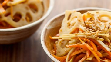 culinary uses of lotus root kinpira