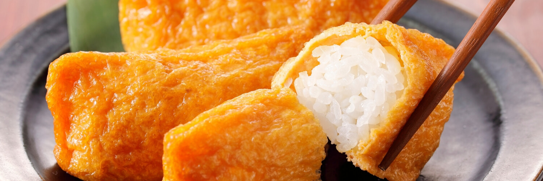inari sushi japanese rice dishes