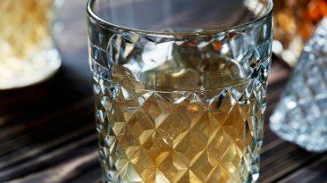 japanese whiskey and bottle