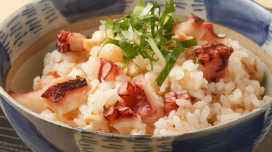 june holidays octopus rice