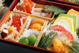 osechi ryori for Japanese new year