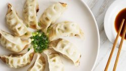 ponzu with gyoza