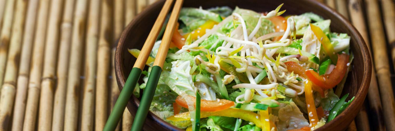 summertime japanese salad
