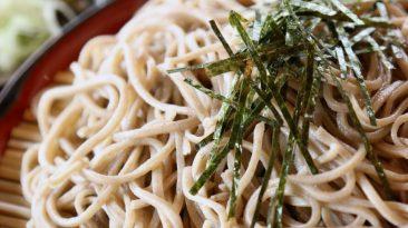 zaru soba japanese cold noodles