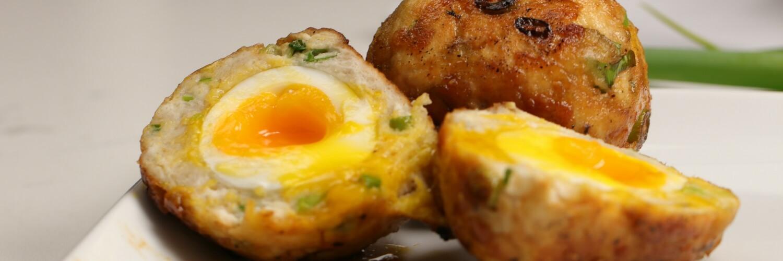 Teriyaki Chicken Scotch Eggs