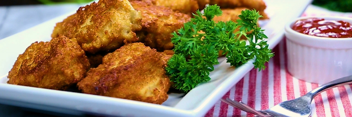 Tofu chicken nuggets